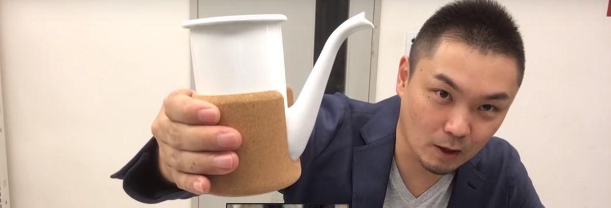 【動画】取っ手がないドリップポット! CUPPOT カップポット【道具屋さんが語る】