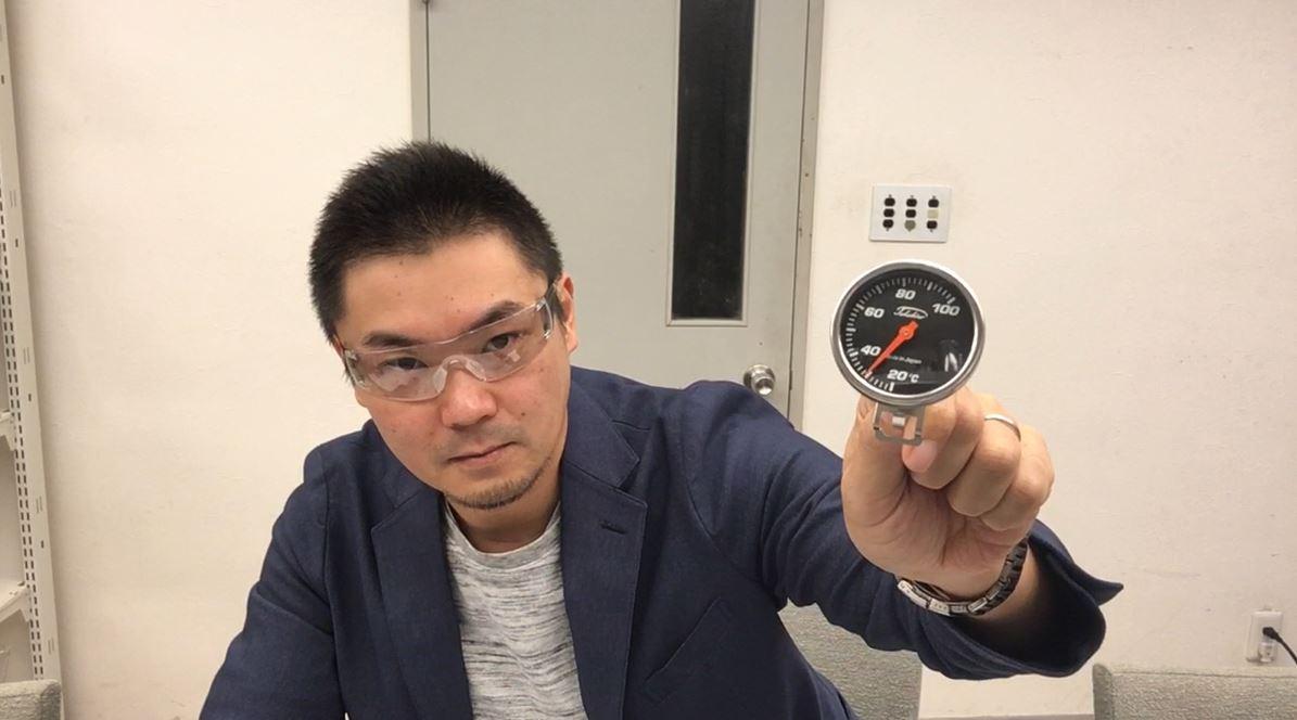 Made in JAPAN!ドリップポット装着可能なサーモメーター「タカヒロ サーモメーター」