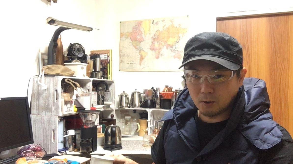 自家焙煎はじめ2019★まろやか★コーヒー焙煎とコーヒードリップ