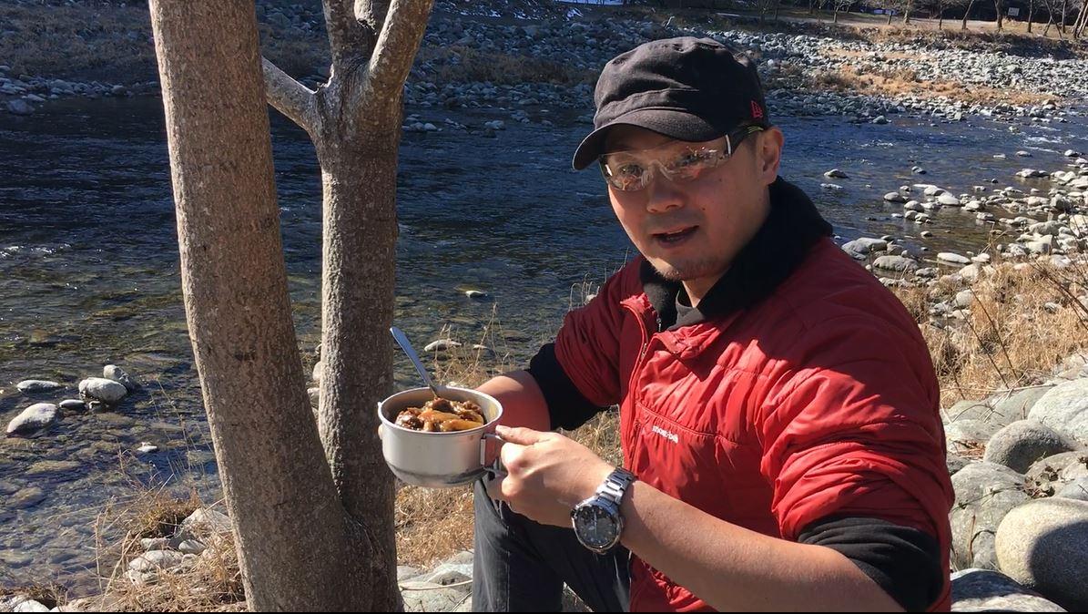 キャンプでカレー&コーヒー焙煎! 新戸キャンプ場(前編)〔#248〕