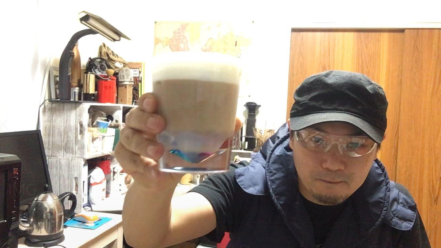 自宅で美味しいアイスカフェオレを作ろう!