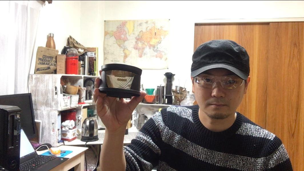 簡単に「オイリー」なドリップコーヒー cores コレス ゴールドフィルター 2-4cups C245〔#264〕
