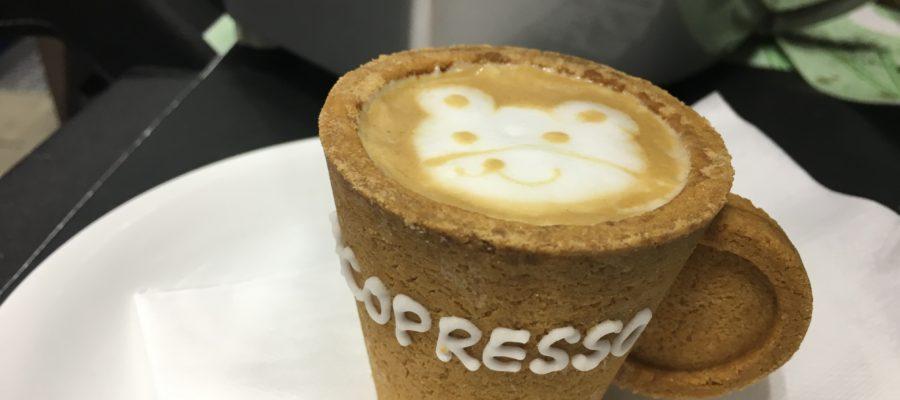 サムライ散歩!クッキーカップECOPRESSO堪能!CAFE RES JAPAN 2019 カフェレスジャパン2019 in パシフィコ横浜 行ってきた。