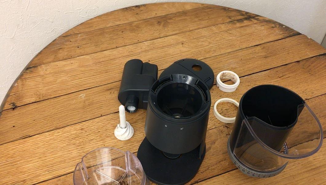 分解10秒チャレンジ!Ren togisumasu Coffee Grinder 電動コーヒーグラインダー