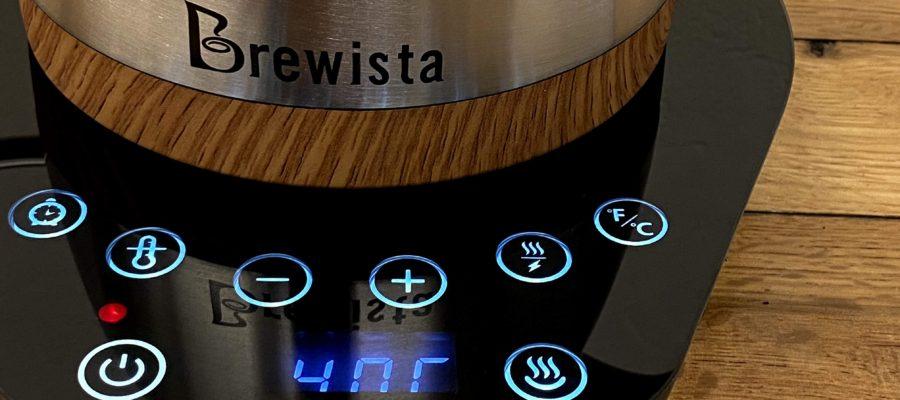 Brewista ブリューイスタでコーヒードリップ!1℃単位で温度設定、保温機能もあるコーヒードリップに特化した電気ケトル!