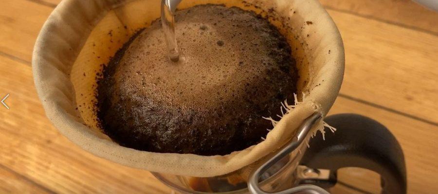 何回も洗って使用できるエコなコーヒーフィルター!安清式 お手入れいらずの和紙糸コーヒーフィルター