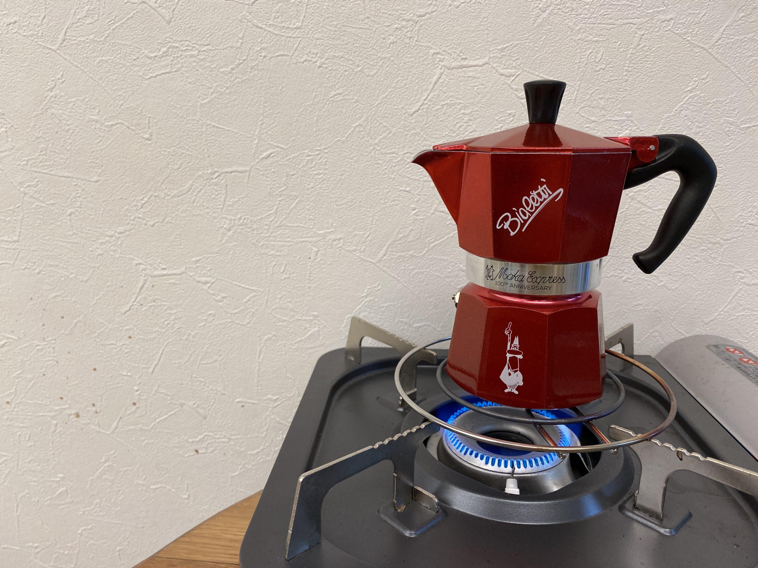 マキネッタ(mokapot)で作ろう!氷でしめて作るアイスコーヒー