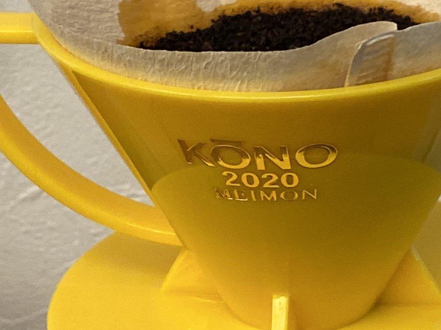 KONO コーノ 2020年限定カラーモデル5色 オリンピックカラー!MDN-21名門フィルター2人用