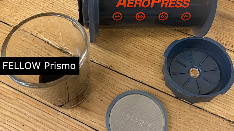エアロプレスでエスプレッソ風『FELLOW Prismo プリズモ エアロプレス用アタッチメント』